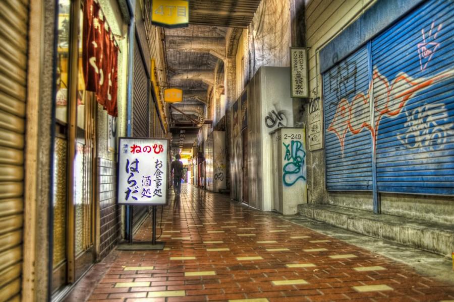 神戸 元町高架下