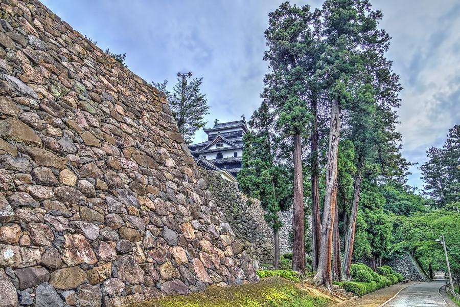 真夏の早朝 松江城散歩