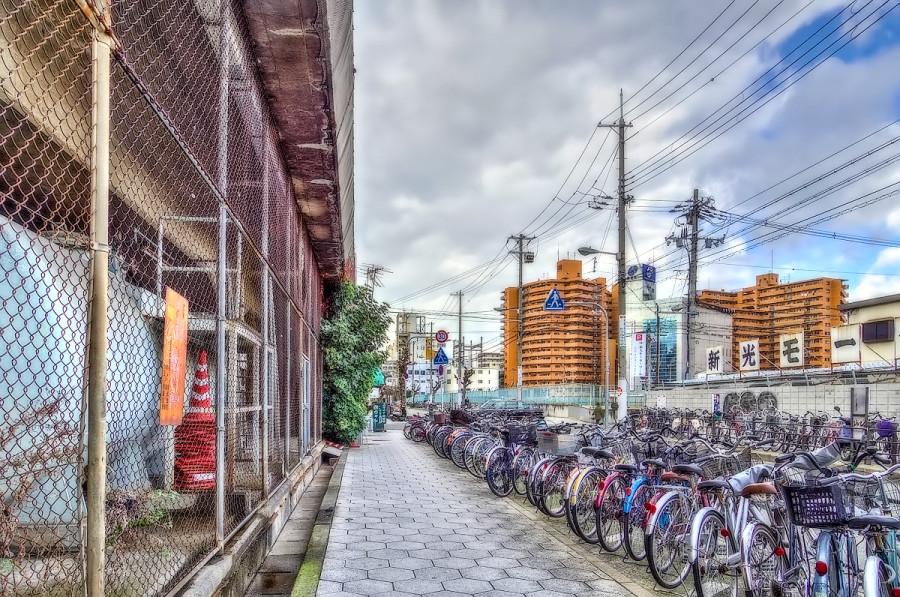 大阪 新今宮駅付近