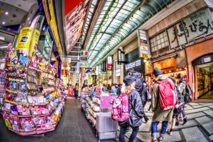 大阪 心斎橋筋商店街
